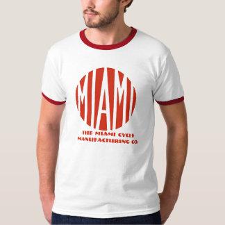 Vintage logo Miami motorcycles T-shirt