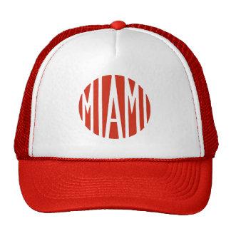 Vintage logo Miami motorcycles Trucker Hat