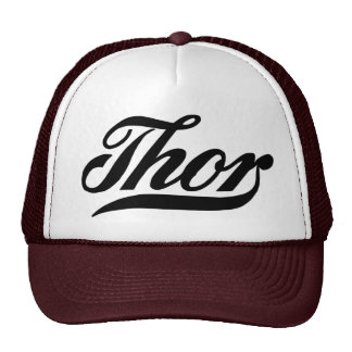 Vintage logo Thor motorcycles Trucker Hat