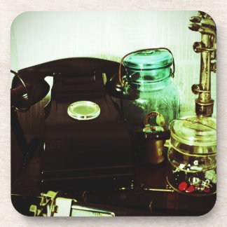 Vintage Lomo Beverage Coaster