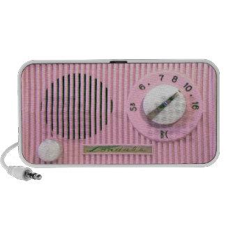 Vintage Londale Radio - Pink Mini Speakers