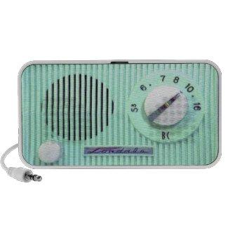 Vintage Londale Radio - Turquoise zazzle_doodle