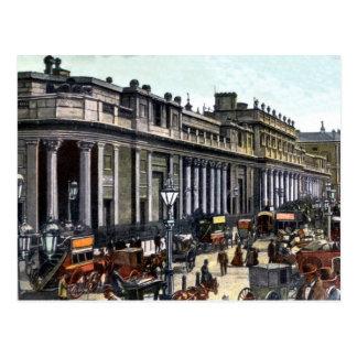 Vintage London Bank of England antique Postcard