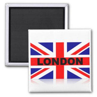 Vintage London British Flag Magnet