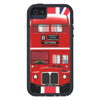 Vintage London Bus and Union Jack iPhone 5 Cases