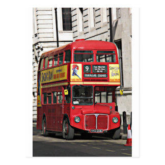 Vintage London Bus Post Cards