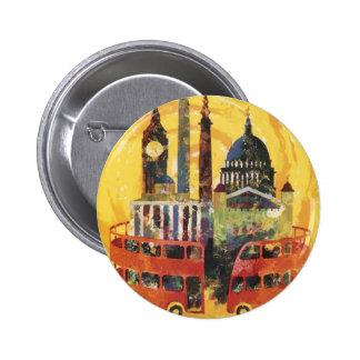 vintage London Button