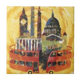 vintage London Ceramic Tiles