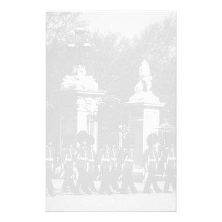 Vintage London Changing guard Buckingham palace Stationery