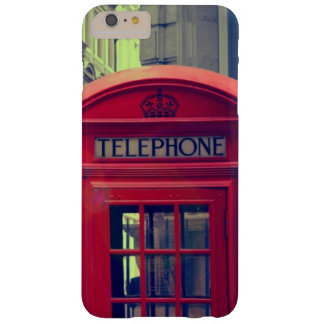 Vintage London City Red Public Telephone Booth Barely There iPhone 6 Plus Case