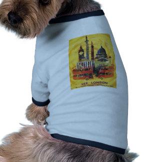 vintage London Dog Shirt