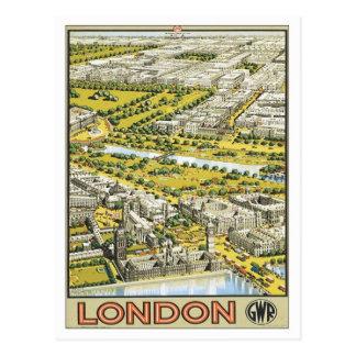 Vintage London England Postcard