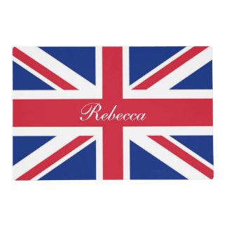 vintage london fashion british flag union jack placemat