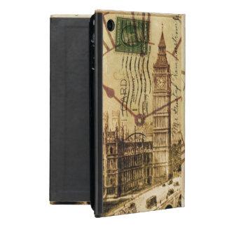 vintage london landmark landscape big ben iPad mini covers