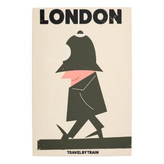 Vintage London Policeman travel poster