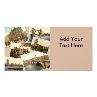Vintage London Postcards Collage