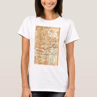 Vintage London Street Map T-Shirt
