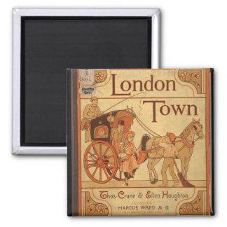Vintage - London Town Refrigerator Magnets