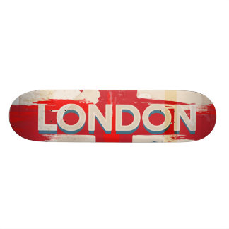 Vintage London Union Poster Skateboard Deck
