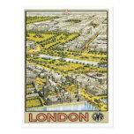 Vintage Londres Inglaterra Postal