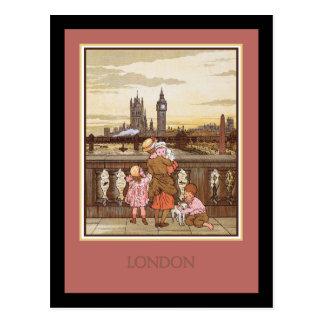 Vintage Londres Postal
