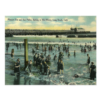 Vintage Long Beach California Postales