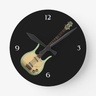 Vintage Longhorn Bass Wall Clock
