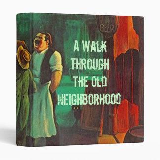 Vintage Look Binder Scrapbook Journal Neighborhood
