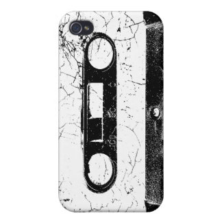 Vintage look cassette tape iphone 4/4s skin covers for iPhone 4
