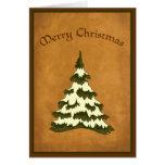 Vintage-look Christmas Card