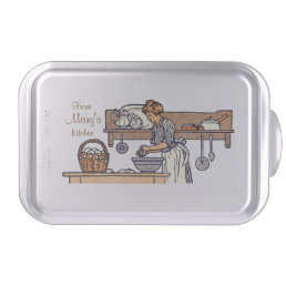 Vintage-Look Custom Cake / Baked Goods / Food Pan