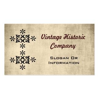 Vintage Look Designer Business Cards