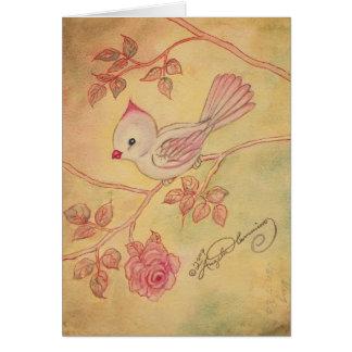 Vintage Look Female Cardinal Postcards, Cards