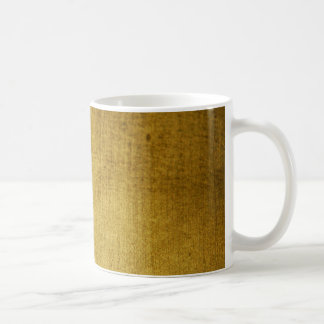 Vintage-Look gold used Coffee Mug
