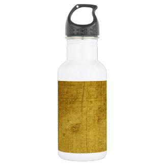 Vintage-Look gold used Stainless Steel Water Bottle