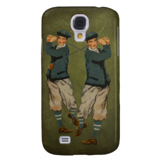 Vintage look Golf 2 i Galaxy S4 Case