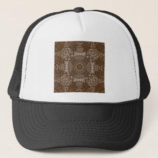 Vintage Look Lace - Caramel Trucker Hat