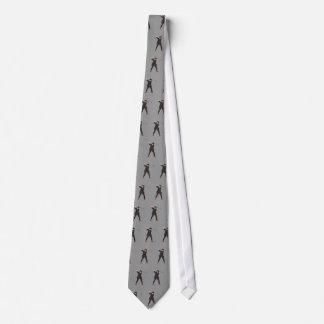 Vintage look Period golfer golf tie