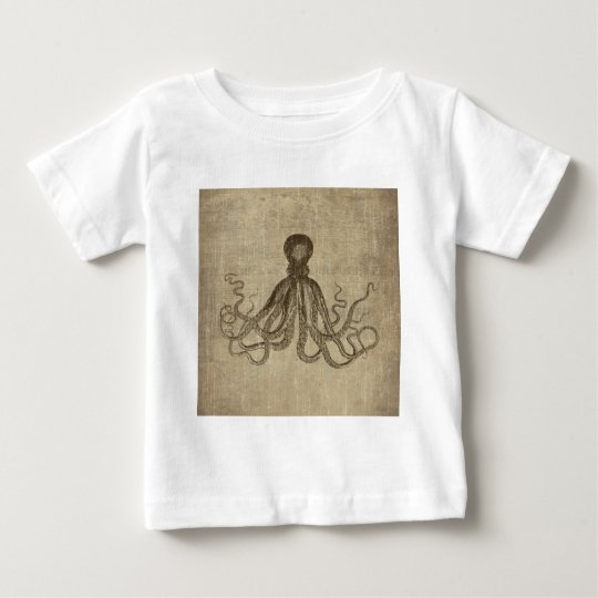 Vintage Lord Bodner Octopus Triptych Baby T-Shirt