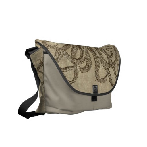 Vintage Lord Bodner Octopus Triptych Commuter Bags