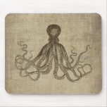 Vintage Lord Bodner Octopus Triptych Mousepad