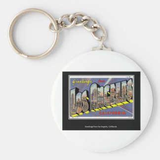 Vintage Los Angeles California Vintage Keychain