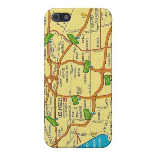 Vintage Los Ángeles iPhone 5 Funda