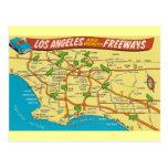 Vintage Los Ángeles Postal