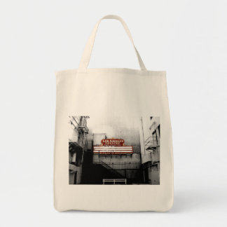 Vintage Los Angeles Theatre Sign Tote Bags