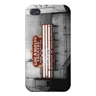 Vintage Los Angeles Theatre Sign Covers For iPhone 4