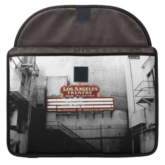 Vintage Los Angeles Theatre Sign Sleeve For MacBook Pro