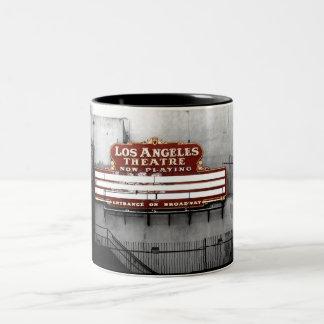 Vintage Los Angeles Theatre Sign Coffee Mugs