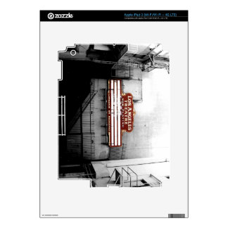 Vintage Los Angeles Theatre Sign Skin For iPad 3