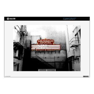 Vintage Los Angeles Theatre Sign Laptop Decals